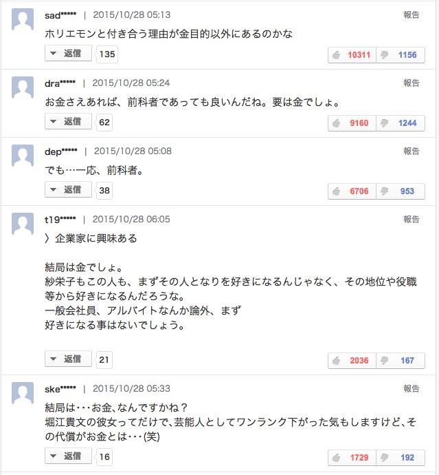ホリエモンと廣井ゆう交際に疑惑
